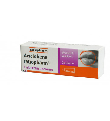 Aciclobene ratiopharm Fieberblasencreme