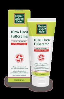 Allgäuer Latschenkiefer 10% Urea Fußcreme 100ml
