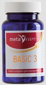 Metacare Basic 3 90 Kapseln