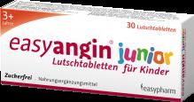 easyangin junior Lutschtabletten für Kinder