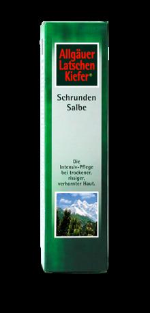 Allgäuer Latschenkiefer Schrundensalbe 90ml