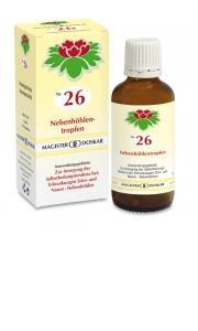 Doskar Tropfen Nr. 26 - Nebenhöhlentropfen