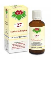 Doskar Tropfen Nr. 27 - Stoffwechseltropfen