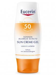 Eucerin SONNEN ALLERGIE Schutz Creme-Gel LSF 50