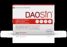 Daosin Kapseln gegen Histaminintoleranz