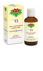 Doskar Tropfen Nr. 15 - Herz- und Kreislauftropfen mild
