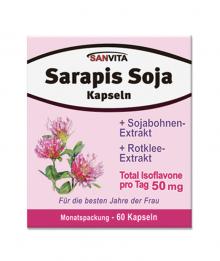 Sanvita Sarapis Soja Kapseln