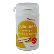 Curcuma 400 mg + Vitamin C Kapseln