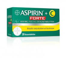 Aspirin®+C forte - Brausetabletten