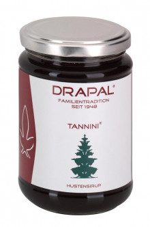 DRAPAL® Tannini Hustensirup Glas ohne Faltschachtel