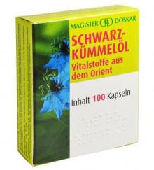 Doskar Schwarzkümmelöl 100 Kapseln