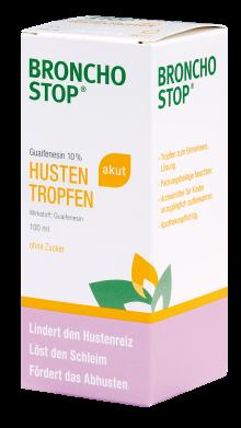 Bronchostop Guaifenesin 10% akut Tropfen