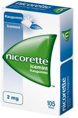 Nicorette Kaugummi 4mg ohne Geschmack