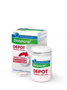 Magnesium Diasporal DEPOT Muskel + Nerven