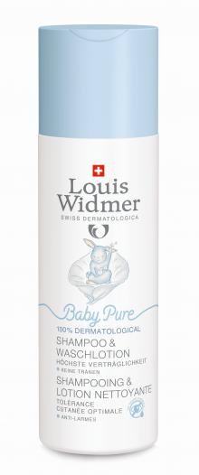 Widmer BabyPure Shampoo und Waschlotion