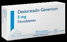 DESLORATADIN GEN FTBL 5MG