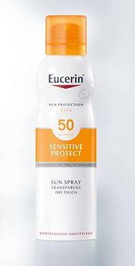EUC SUN SPRAY DRY LSF50+
