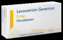 LEVOCETIRIZIN GEN FTBL 5MG