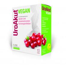 Biogelat UroAkut vegan D-Mannose plus Cranberry