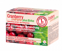 BIOGELAT CRANBERRY UroForte plus Birke