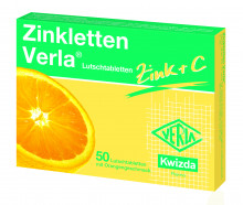 Zinkletten Verla Lutschtabletten Orange